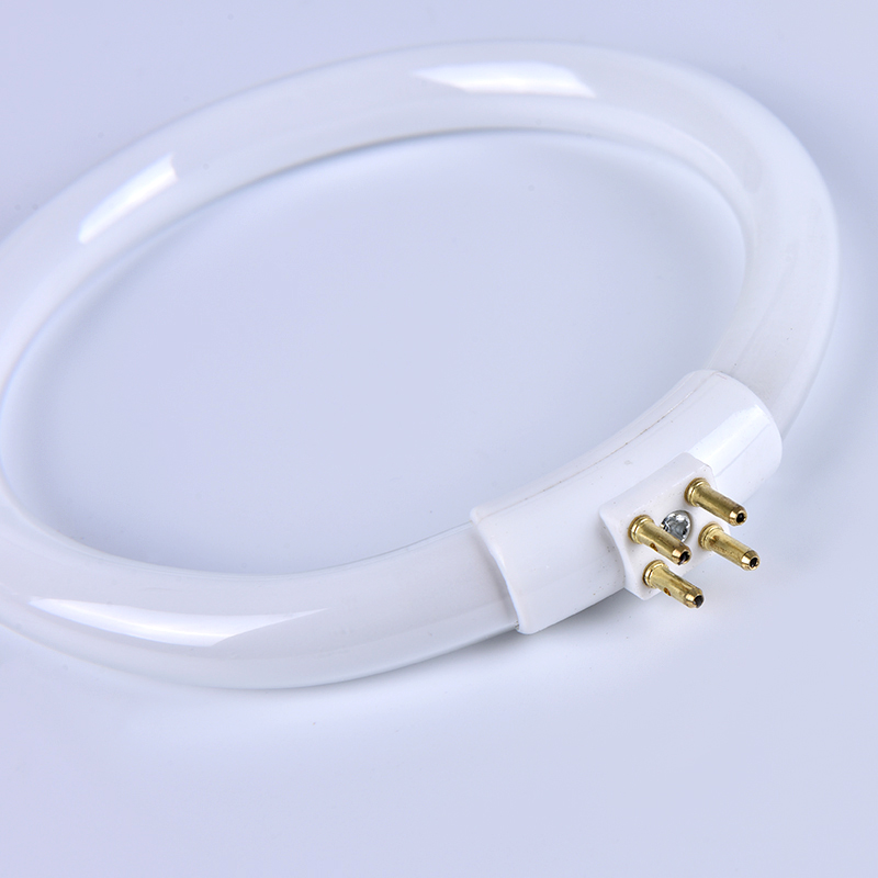 11W T4 Round Annular Tubes Lamps Bulb Fluorescent Ring Lamp Tube With 4 Pins