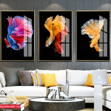 Factory direct sales 5D three-dimensional paintings light luxury fresco goldfish tri-decorative painting on behalf of a hair a1 5 brand new 10 a type factory direct sales a large quantity favorably centre drill