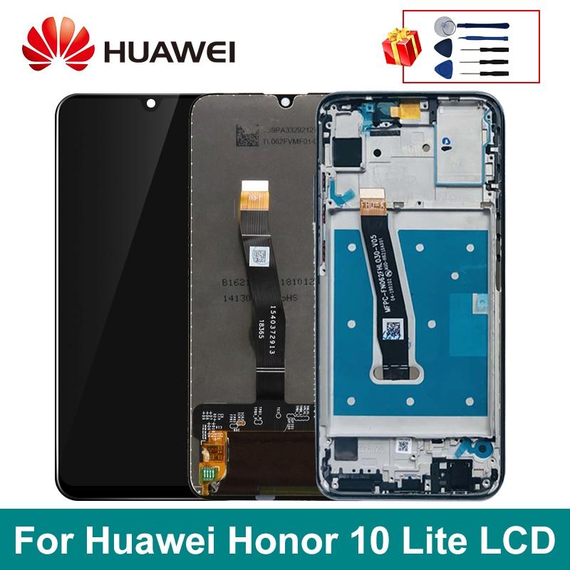 """6.21 """"Original Für Huawei Display Honor 10 Lite LCD Touch Screen Für HUAWEI HRY-LX1 HRY-LX2 HRY-LX1T Ersatz Teile"""