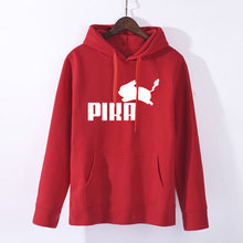 2018 herbst Frauen Hoodies Rollkragen Pikachu Print Sweatshirts Harajuku Mode Kawaii Tops Cartoon Pokemon Paare Pullover(China)