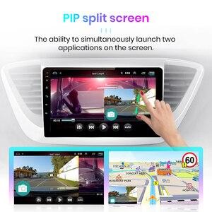 Image 5 - Junsun V1 2G + 32G Android 10 4G Auto Radio Multimedia audio Player GPS Navigation Für Hyundai solaris 2 Verna 2017 2018 keine 2 din