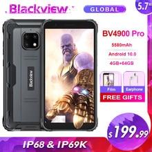 Blackview a BV4900 Pro 5580mAh IP68 impermeable resistente Smartphone 5,7