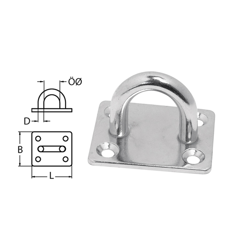 Hot Sale Eye Plate Stainless Steel Zurroese Wandoese Cover Plate