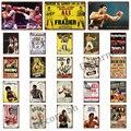 [WellCraft] боксерская звезда, Али Тайсон, холлифилд, металлическая картина, винтажный оловянный знак, боксер, индивидуальный пошив, клубный спор...