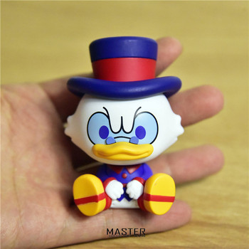1 stück 7,5 cm hohe qualität Scrooge McDuck Donald Duck onkel sammlung figuren spielzeug modell ornamente