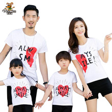 Family Clothing 2020 Summer Style Men Women Child Mother Daughter Father Son Short-sleeve T-shirt Matching Family Clothes family matching clothes 2017 summer style short sleeve star t shirt for mother daughter and father son clothes family look