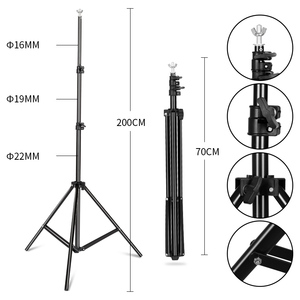 Image 5 - Professional Photography Lighting Equipment Kit with Softbox Soft background stand with boom arm Backdrops Light Photo Studio