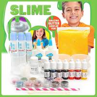 DIY For Slime Making Kit Colorful Powder Candy Paper Polymer Clay Set Toy for Kids Gift Supplies For Slime Stuff Material Set
