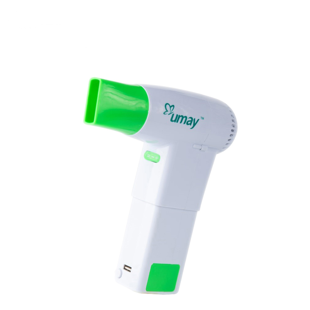 Hair Dryer with 2 Batteries USB Port