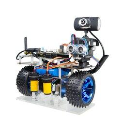 Программируемый Интеллектуальный баланс WiFi видео робот автомобиль Поддержка iOS/Android APP PC RC для STM32-Patrol избегание препятствий версия