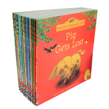 Usborne Book Picture-Books Farm-Story Tales-Series English Baby Children for of 15x15cm