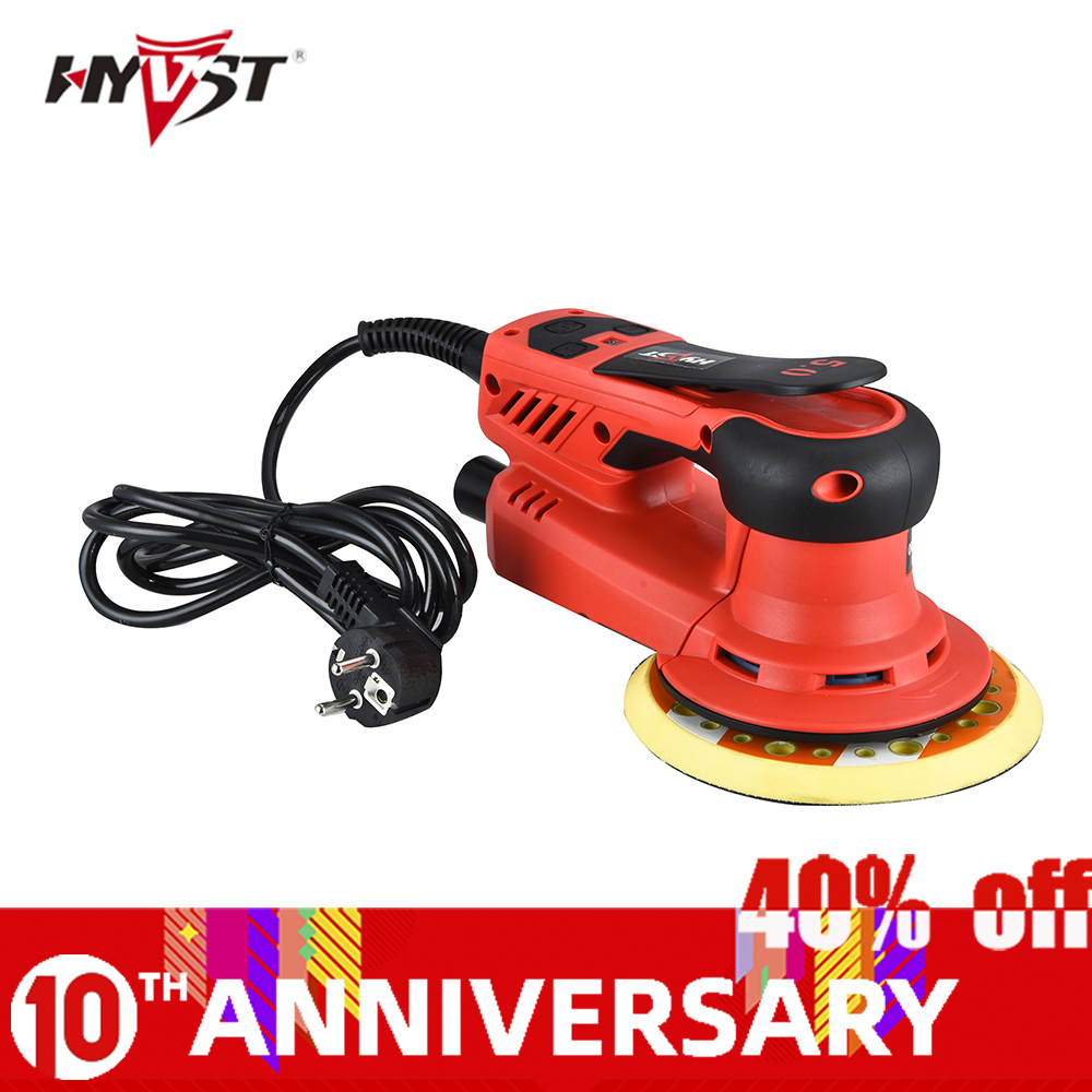 HYVST 350W Multi-function Random Orbital Sander Brushless Variable Speed Corded Orbital Sanders For Finishing,Corners, Car,wood