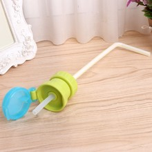Baby Kids Drinking Tube Bottle Cup Cap Straw Cover Choking Preventing Healthy DXAD(China)