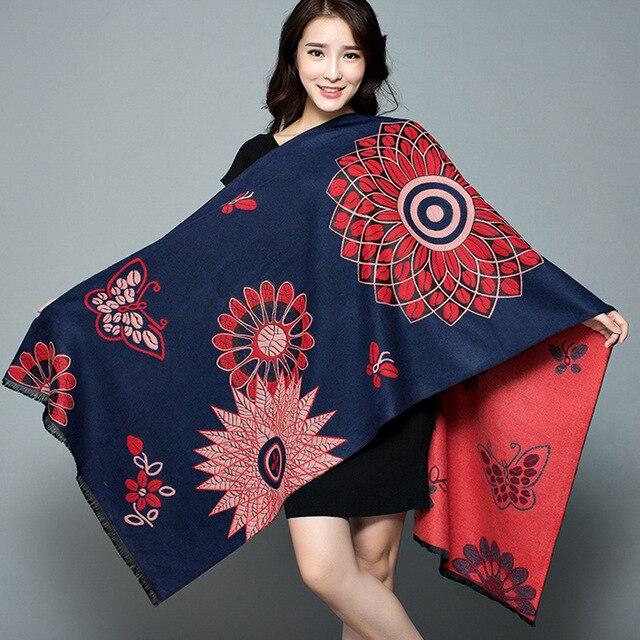 2019-New-Shawl-Women-s-Thickening-Warm-Pashmina-Cashmere-Scarf-Autumn-winter-Oversize-Soft-scarf-Shawl (7)