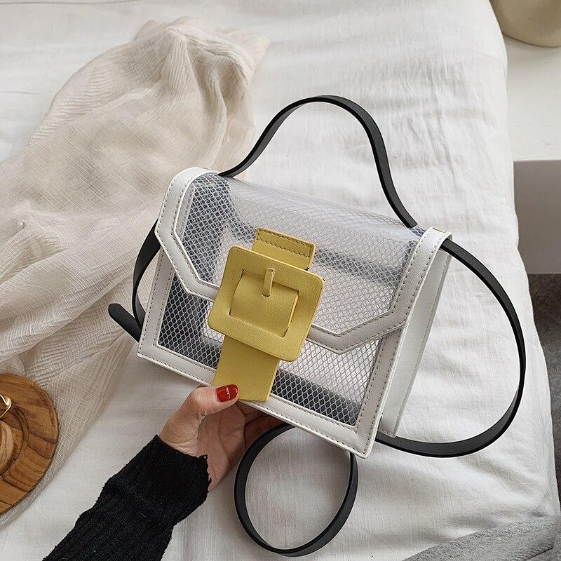 Transparent Messenger Bag