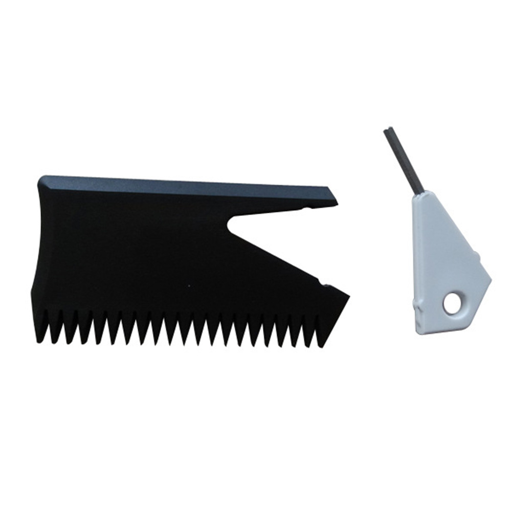 Lightweight Surfing Accessories Cleaning Wax Comb With Fin Key Surfboard Plastic Hole Effective Quickly Remover Tool Portable