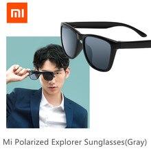 Original XIAOMI Mijia Classic Squareแว่นตากันแดดSelfrepairing TACโพลาไรซ์เลนส์ไม่มีสกรูแว่นตากันแดด6ชั้นPolarizing