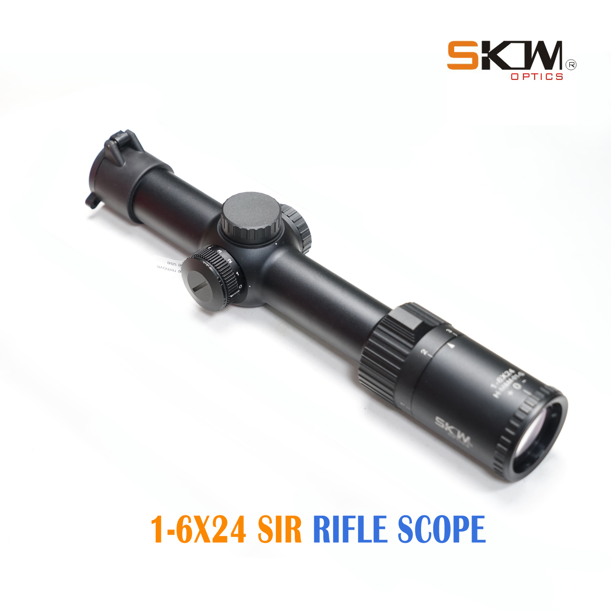 SKWoptics Hunting 1-6x24 Rifle Scopes Mount Tactical MIL Reticle Shock Proof Riflescopes 30mm Scope Rings