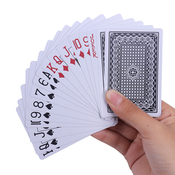 Box Packed PVC Cards Waterproof Texas Playing Cards Plastic Durable Poker Magic Tricks Tool Multiplayer Game Card Creative Gift