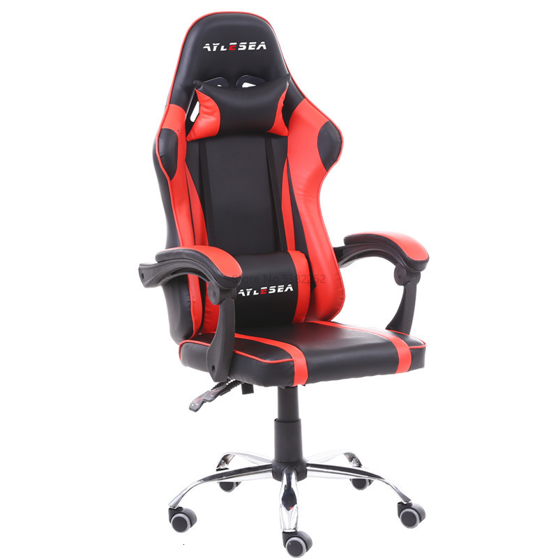 Electric Racing Chair Game Computer Chair Leather Reclining Chair Office Comfortable Chair