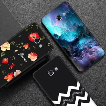 Matowa obudowa ochronna do Samsung Galaxy A3 A5 A7 2015 2016 2017 2018 Slim etui na telefon komórkowy tpu do A8 + elastyczny żel Funda Capa