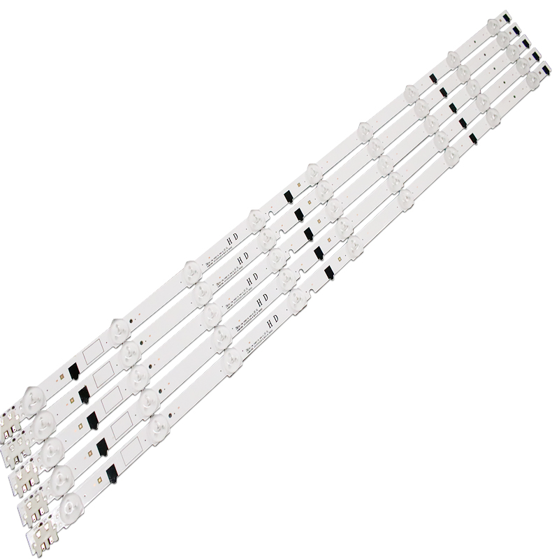 5 Pieces/lot 100% New UA32F4088AR CY-HF320AGEV3H UE32F5000 UA32F4000AR LED Strip D2GE-320SC0-R3 2013SVS32H 9 LEDs 650mm