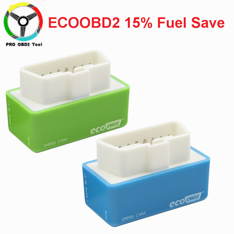 Fuel Save 15% New ECO OBD2 & Nitro OBD2 Car Economy Chip Tuning Box Plug & Drive For Benzine Cars Lower Fuel Lower Emission