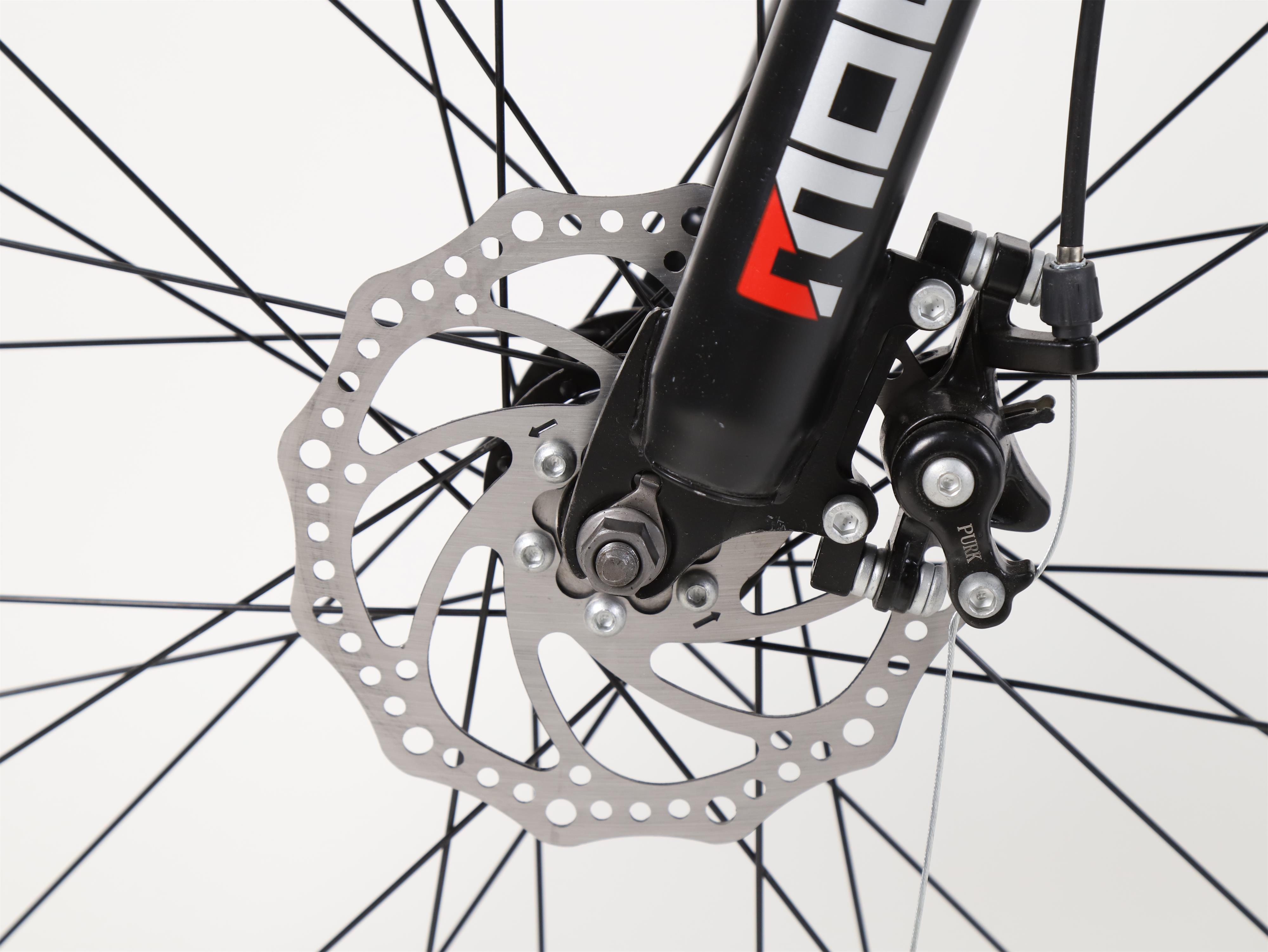 Mondshi27 5 inch mountain bike 24 speed disc brake damping front fork Mondshi27.5-inch mountain bike 24 speed disc brake damping front fork