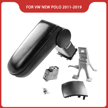 Free Shipping FOR VW NEW POLO 2011-2020 CAR ARMREST,Car Interior Accessories Parts Car Center Console Box Arm Rest Storage box upgraded car styling car arm rest accessories accessory mouldings protector automobiles armrest box 02 03 04 for chevrolet sail
