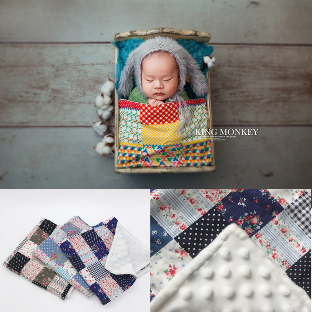 Newborn Photography Props Children's Photographic Tapestry Blanket Photographic Background Padding Baby Photo Shoot Accessories