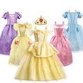 Платье принцессы королева», «Рапунцель», «Золушка красоты костюм для маленькой девочки, платье для девочки на день рождения вечерние на Рож...
