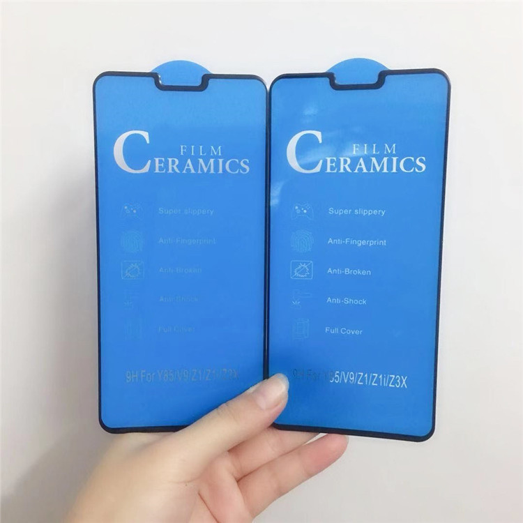 2Pcs Ceramic Glass Fiber Phone Protective Film For Huawei Honor V30 V20 Nova 6 Y9 Prime 2019 P SMART 2019 Honor 20 Lite Film
