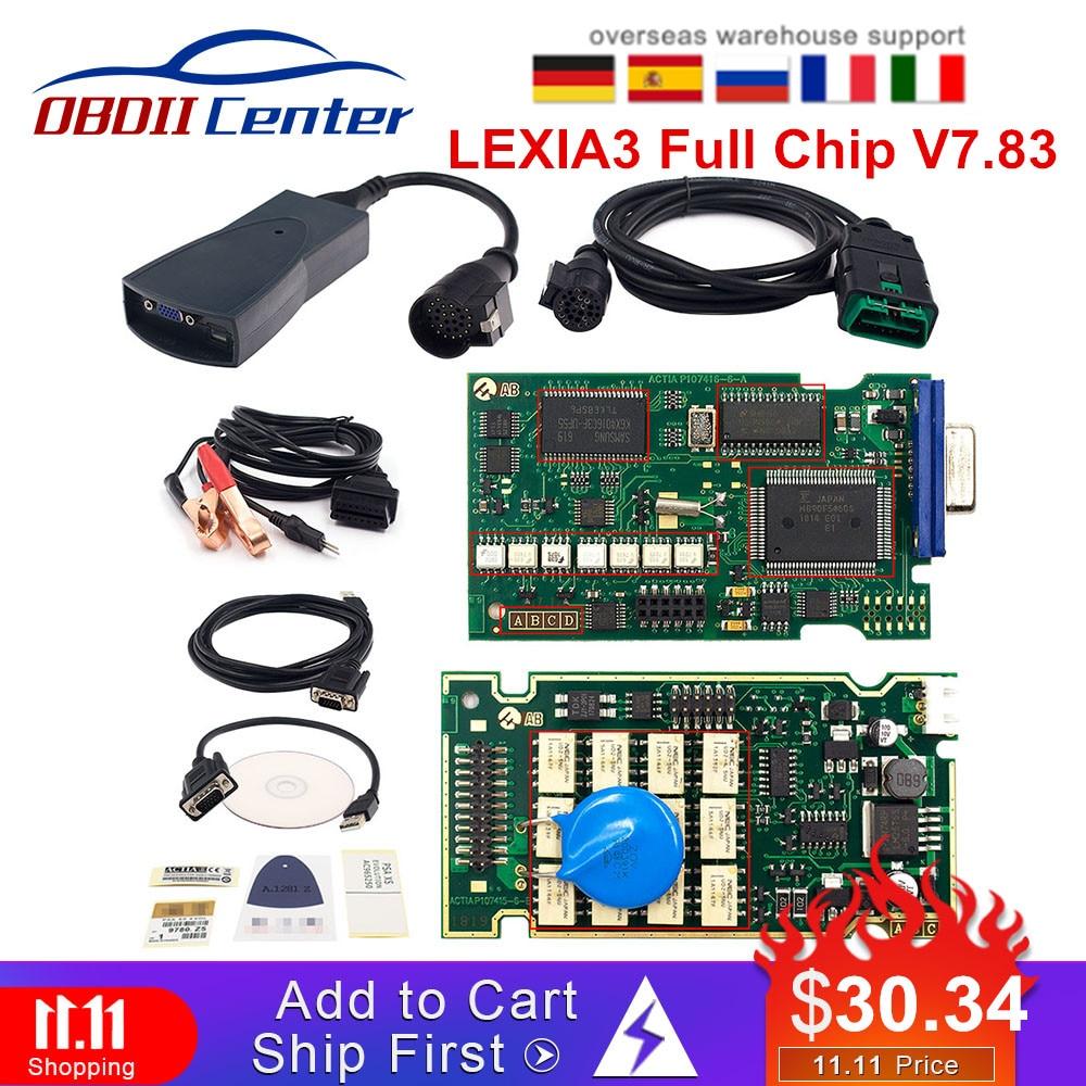 Lexia3 Psacom Psa-com Bluetooth Auto Diagnostic Scanner For Peugeot For Citroen Psa Com Replace Lexia-3 Full Chip Pp2000 Diagbox