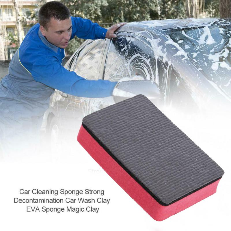 Car Clean Clay Car Wash Mud Clean Sponge Magic Auto Cleaning Clay Bar Auto Detailing Cleaner Cars Care Tools Washing