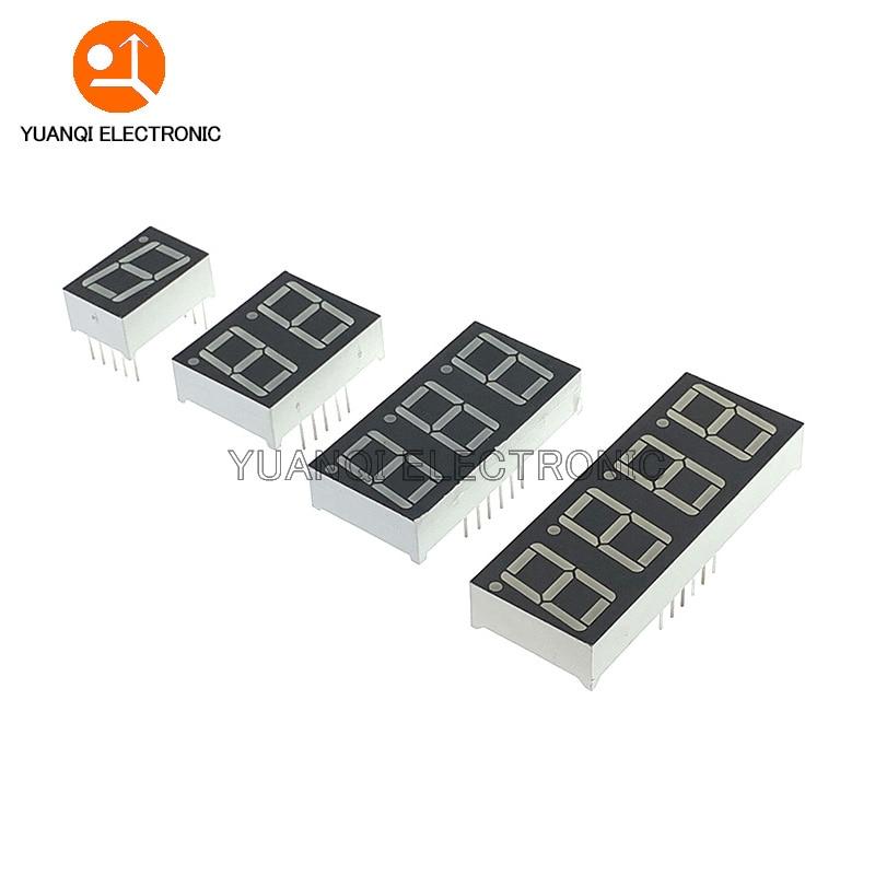 1pc 0.56inch LED display 7 Segment 1 Bit/2 Bit/3 Bit/4 Bit Digit Tube Red Common Cathode / Anode Digital 0.56 inch led 7segment