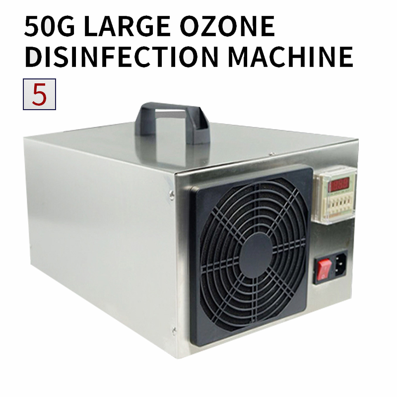 50g Ozone Generator Office Air Sterilizer Food Sterilization Farm Environmental Treatment Pigsty Ammonia Removal