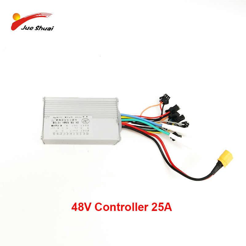 Jueshuai DC 48V25AH Электрический контроллер для мотороллера электрическая плата 48 в 500