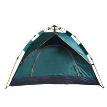 Палатка Автоматическая на 3 4 человека портативная туристическая