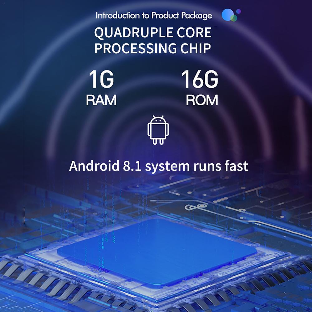 9/10. 1 дюймовый автомобильный радиоприемник Android 8,1 HD сенсорный экран Bluetooth gps навигация wifi доступ в Интернет многофункциональное радио и камера - 4
