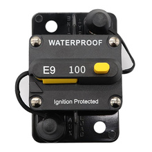 цена на Square car circuit breaker 60A-100A Manual reset Circuit breaker with switch Manual reply fuse holder circuit breaker