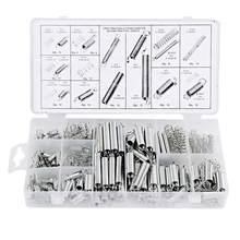 Kit d'accessoires pour l'extension et la Compression de la bobine, 200 pièces, 20 tailles, matériel Portable, jeu de ressorts, acier métallique, assortiment avec boîte