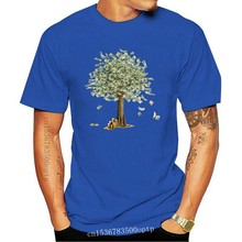 Money Grows On Trees! 2017 Funny Design Cotton Tops & Tees For Men Novelty Male Gift T-shirt Long Sleeve Personalized
