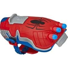 Hasbro Spider-Man Power Moves Spider-Man pistolet nerf broń palna prawdziwe nerf glock pistolety zabawki pistolet bb pistolet powietrze dla dorosłych fałszywe pistolet zabawki dla chłopców ar15 pistolet zabawkowy akcesoria do pistoletu pistolet bezpieczny paintball pistolet na wodę pistolet bb pistolet apex tanie tanio MARVEL AR (pochodzenie)