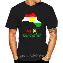 Her Biji Kurdistan Ypg Rojava Kurd Kobane Kobani T-Shirt Tutte le Taglie Nuovo