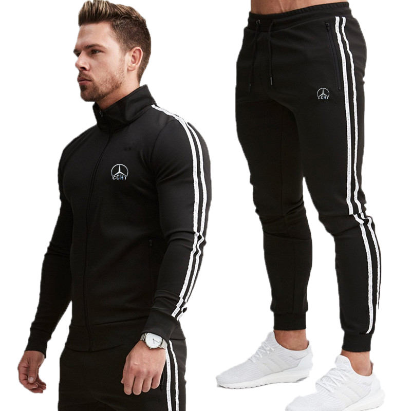 New For 2020! Wholesale! High Quality Men's Harajuku Hoodies And Pants Casual Sweatshirts Fashion Sportswear