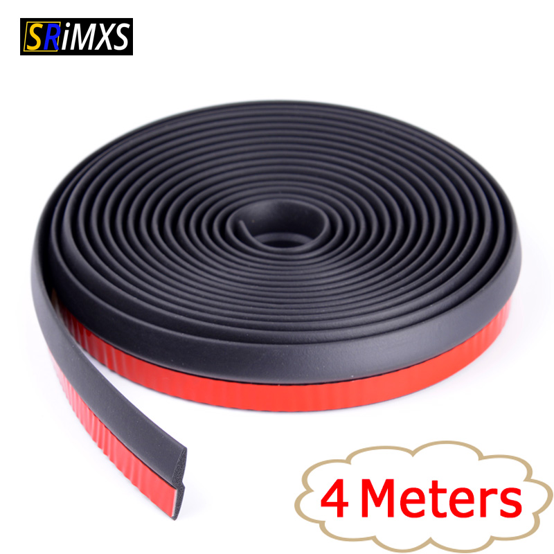 4 Meters Z Type Auto Door Seal Good Quality Z Seal Weatherstrip Trim High Density Rubber Seals For Cars