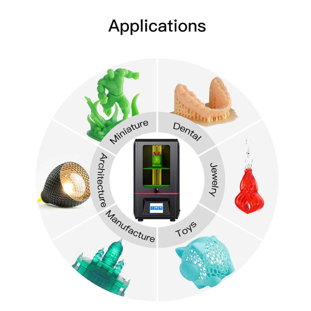Impresora 3D Anycubic Photon, SLA/LCD de 2019 de talla grande, rebanador de fotones de alta precisión, Impresora 3d de curado ligero de 2,8 pulgadas