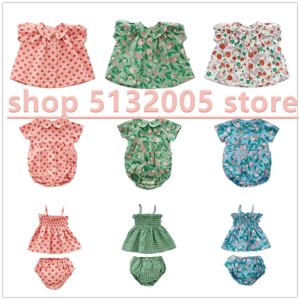 IN STOCK 2020 Spring and Summer OE New Girls High-quality Cotton Lapel Tops Teenage Girls Shirt