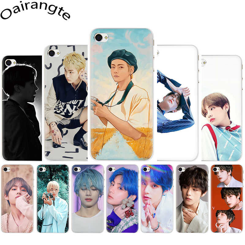 Kim V Taehyung Transparant Hard Telefoon Cover Case Voor Apple Iphone Se 2020 5 5S Se 6 6S 7 8 Plus X Xr Xs 11 Pro Max