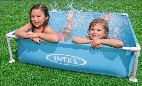 Piscina inflável do jogo das crianças da piscina da cremalheira da tubulação-1